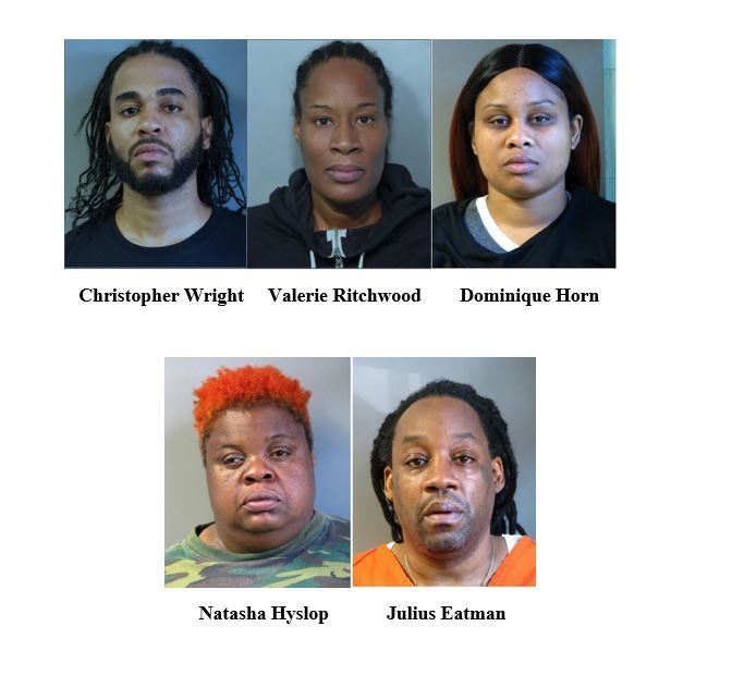 Operation United Front arrest photos